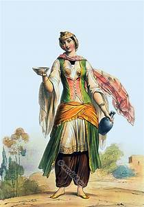 Arabian women`s and men`s clothing from the middle east ...
