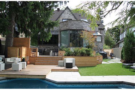terrasse  patio urbains pour une cour arriere
