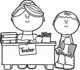Teacher Coloring Pages sketch template