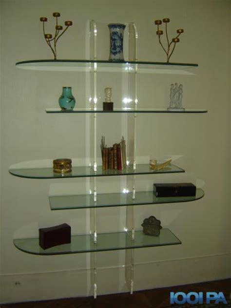 etageres murales en verre biblioth 232 que 233 tag 232 re en verre collection annonce ameublement 75