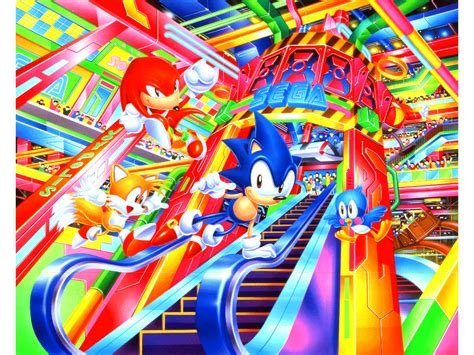 This Sega Wallpaper Seems Pretty Vaporwave Without Having