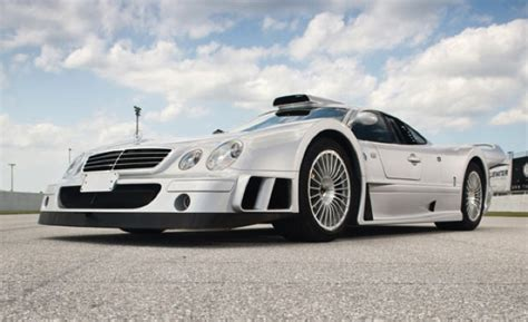 uber rare  mercedes benz clk gtr fetches  million