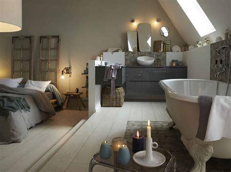 salle de bain ouverte dans chambre davaus idee salle de bain dans une chambre avec