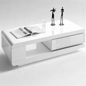 Table Blanche But : table basse rectangulaire blanche id es de d coration int rieure french decor ~ Teatrodelosmanantiales.com Idées de Décoration