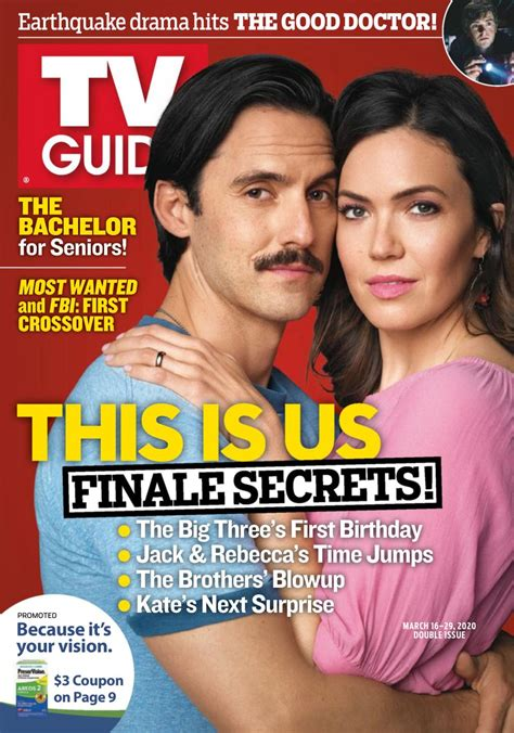 TV Guide Magazine-March 16-29, 2020 Magazine - Get your ...
