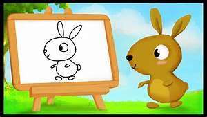 Lapin Facile A Dessiner : ides de dessin de lapin facile a dessiner galerie dimages ~ Carolinahurricanesstore.com Idées de Décoration