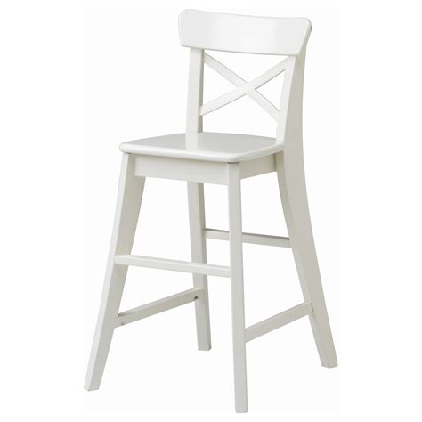 chaise ingolf ingolf junior chair white ikea