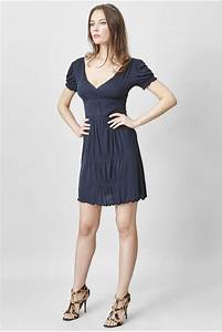 marine blue dress c39est ma robe With robe droite bleu marine