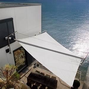 Terrassen Sonnenschutz Elektrisch : ein sunsquare sonnensegel ist ein rollsegel f r schatten und sonnenschutz garten pinterest ~ Sanjose-hotels-ca.com Haus und Dekorationen