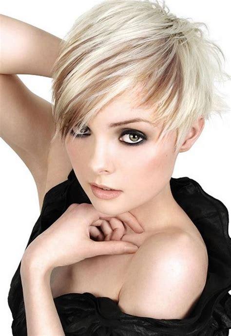 frisur damen  coolest kurz asymmetrisch haircut ideen
