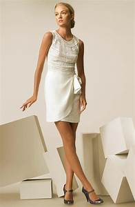 casual style wedding dress knitted top and wrap skirt With short casual wedding dresses