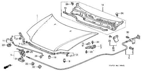 Honda Online Store Crv Hood Parts