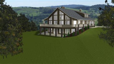 House plans with walkout basement Walkout Basements by E