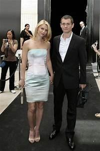 Hugh Dancy in Claire Danes and Hugh Dancy at the Armani ...