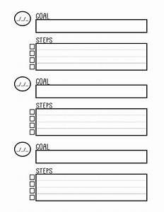 Free Printable Goal Setting Worksheet - Planner setting ...