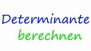 Determinante Berechnen 4x4 : determinante berechnen mit zeilen entwicklung math intuition youtube ~ Themetempest.com Abrechnung