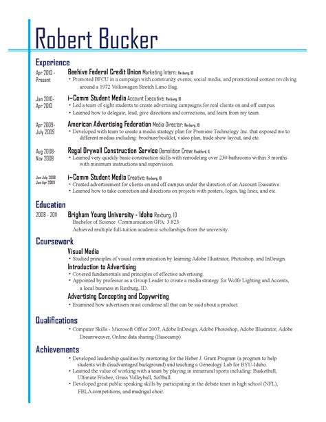 Resume Template Questions by Best Resume Layouts 2013 Resume Layout 2013 Given