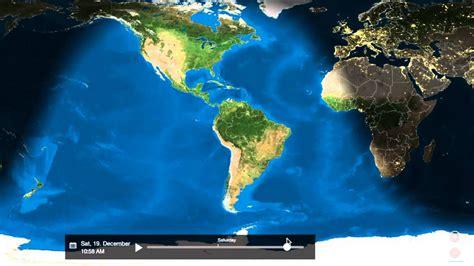 globe earth sunrise sunset animated youtube