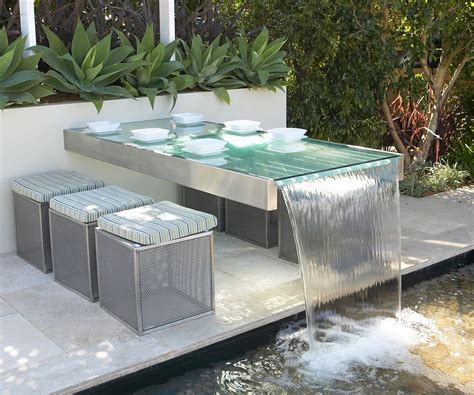 how to bring your garden to with a water feature homes