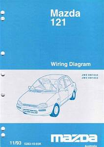 Mazda 121  Db  Wiring Diagrams 1993 Factory Manual Supplement Mazda Australia