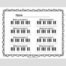 Piano Keys Worksheets Keys Are A Breeze! By Melody Payne Tpt