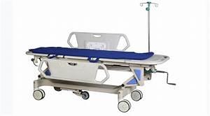 Cj418 Patient Cart  Manual Transfer Stretcher   Emergency