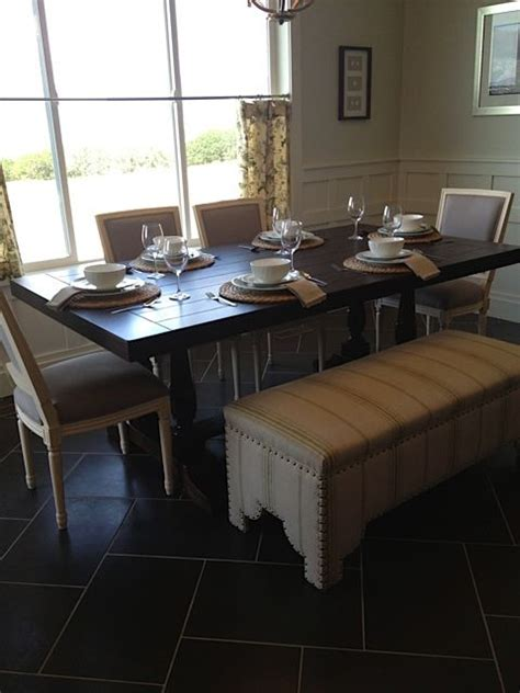 upholstered dining table bench storage dining table