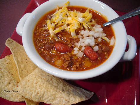 chili cuisine comfy cuisine wendy 39 s style chili
