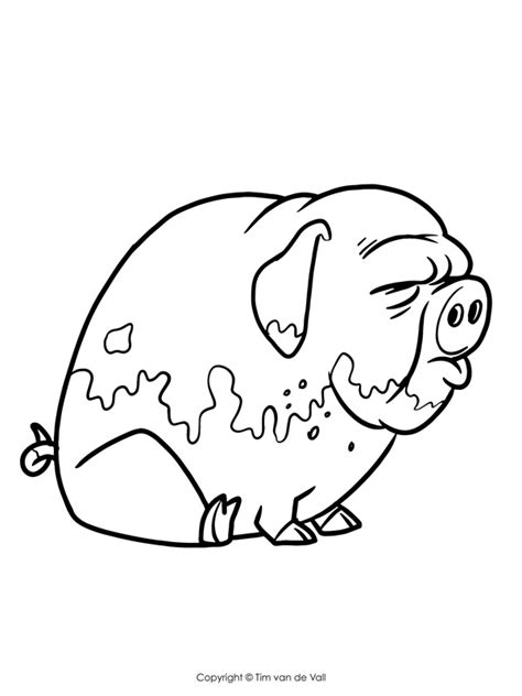 Three Little Pigs Coloring Pages The Three Little Pigs Story