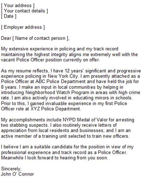 Enforcement Resume Cover Letter by Enforcement Cover Letter Sle