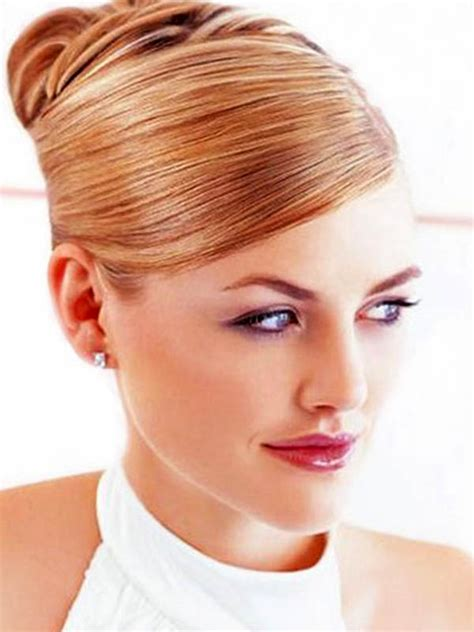 Hairstyles Bun Updos by The Most Trendy Wedding Hair Accesories And Wedding