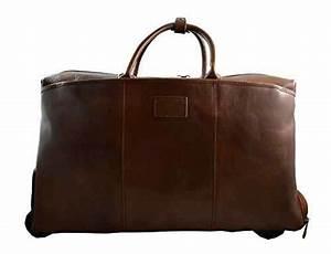 Handtasche Mit Rollen : leder braun troller reisetasche manner damen mit griff leder weekend tasche reisetasche ~ Eleganceandgraceweddings.com Haus und Dekorationen
