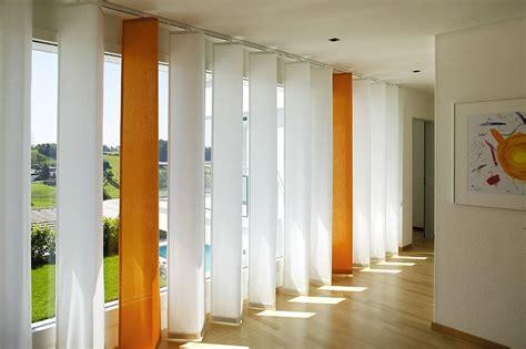 tende pannello moderne 50 esempi di tende a pannello moderne per interni