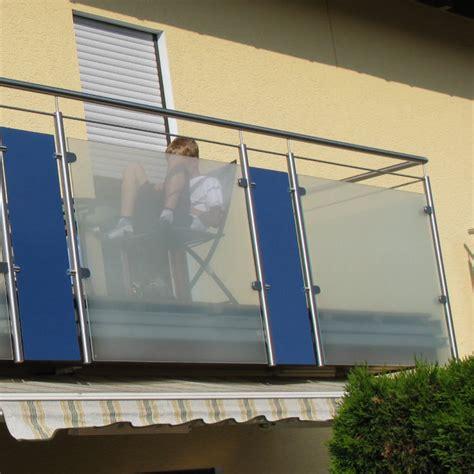 balkongeländer aus glas balkongel 228 nder