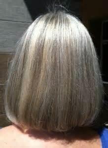 blending gray hair  lowlights grey hair ideas