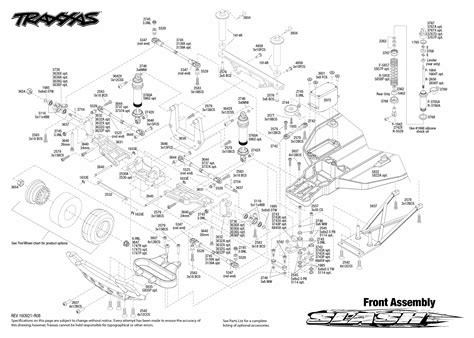 Traxxa T Maxx Steering Diagram by Exploded View Traxxas Slash 1 10 Tq Rtr Front Part Astra