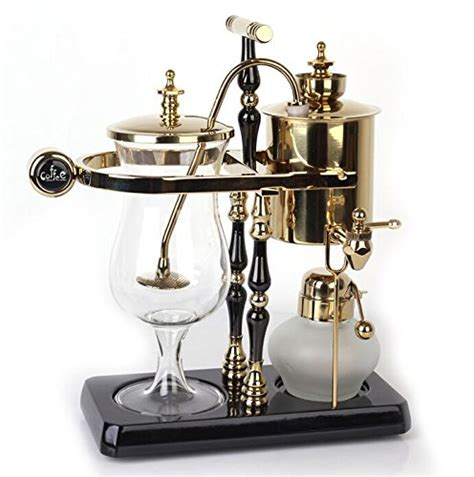 The royal paris coffee maker isn't just about brewing the world's finest coffee or being the celebrated host… more than a statement of extraordinary taste… the journey of creating the royal paris coffee maker began in the late 1850s. Belgium Luxury Royal Family Balance Siphon / Syphon Coffee Maker SALE ☕ Espresso Machines Shop ...