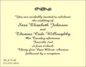 wedding invitation wording exles post wedding reception invitation wording badbrya