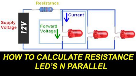 How Connect Leds Parallel Calculate Led