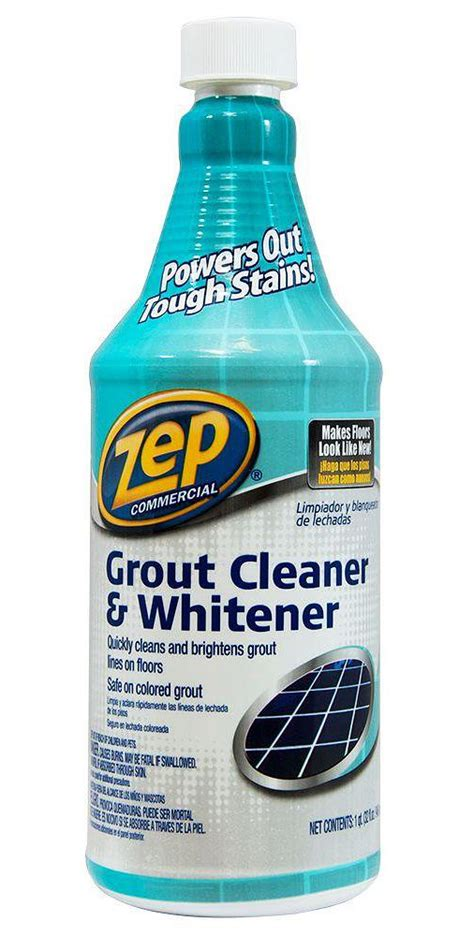 Zep Floor Sealer Home Depot by Zep 32 Fl Oz Grout Cleaner And Whitener Sodas Dr Oz