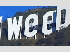 Hollywood sign vandalized to read 'Hollyweed' CNN