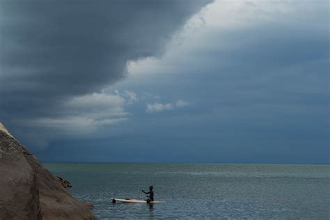 Side Of Boat Sheltered From Wind by Malawi The Lake Of The World In 30 Days