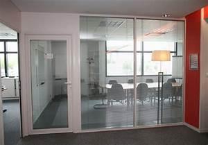 cloison et separation le volet menuiserie en aluminium With porte de garage et porte vitrée intérieur bureau