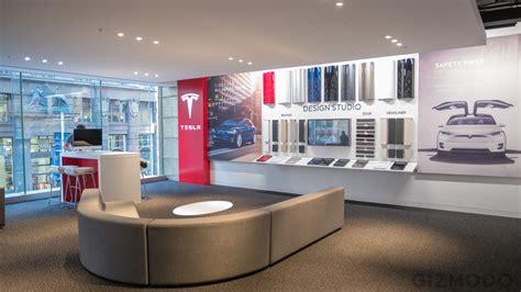 tesla  opened   retail store  sydney