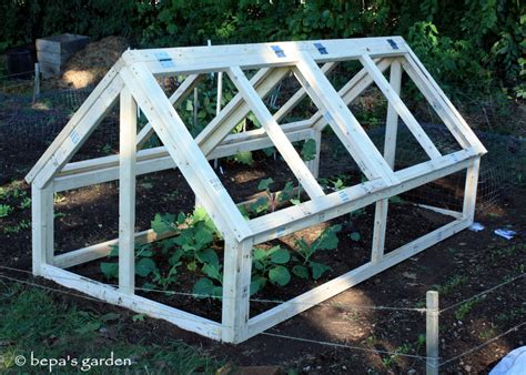 extend your garden s growing season diy mini greenhouse