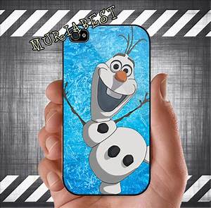 Disney Frozen olaf for iphone 4 case iphone 4s case by ...