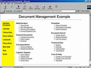 Perl rescues a major corporation for Document management systems examples