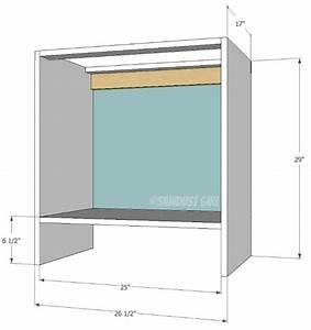 Bookshelf Base Cabinet- Cara Collection - Sawdust Girl®