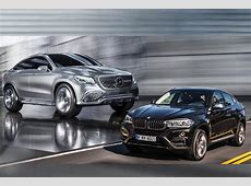 The BMW X6 2015 Will Have a Rival the MercedesBenz MLC