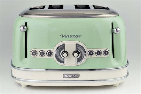 tostapane vintage toaster vintage 4 fette verde ariete